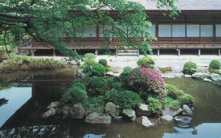 圓満院門跡 境内のご案内 三井の名庭